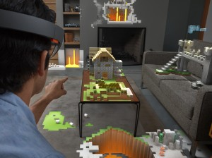 Microsoft Hololens virtual reality headset