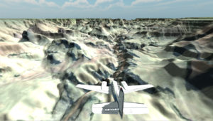 VR Flight Simulator / Grand Canyon USA