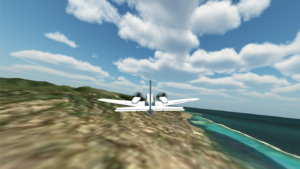 VR Flight Simulator / Tahiti
