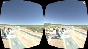 VR Flight Simulator iOS: Grand Canyon