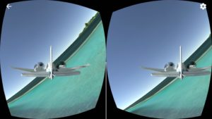 VR Flight Simulator iOS: Tahiti